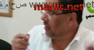 رئيس نادي شباب ماحص السيد عارف الرجب